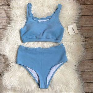 NEW Zaful Blue Bikini